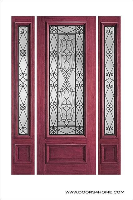 Ir iron insulated entry doors model mediterranean for Insulated entry door