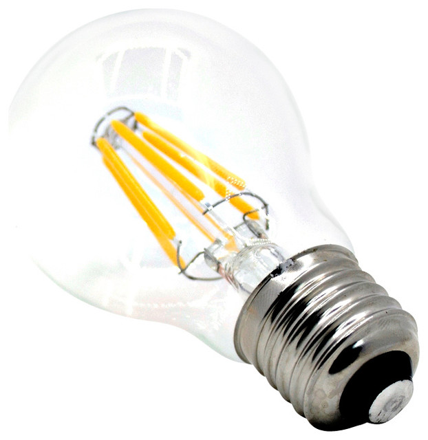 """""""Edison Style"""" A19 LED Filament Bulb - 6w Dimmable - Traditional - Led Bulbs - by LED Bar Lighting"""