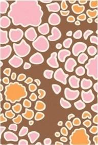 Inhabit | Mum Wool Rug in Blush/Sunshine modern-rugs