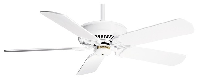"""Country - Cottage 50"""" Casablanca Panama Inteli-Touch White Ceiling Fan traditional-ceiling-fans"""