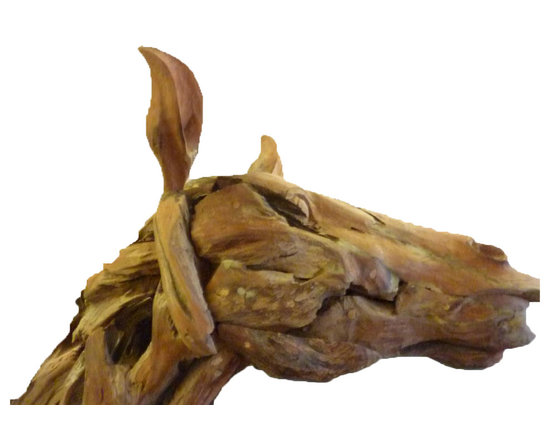 Solid Wood Sculpture -