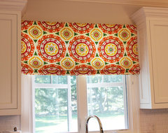 Custom Window Treatments by Lynn Chalk modern curtains