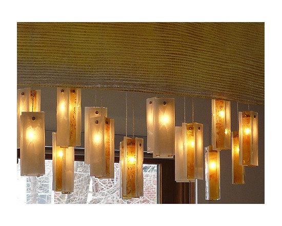 """Galilee Lighting - """"Rain drops chandelier"""""""