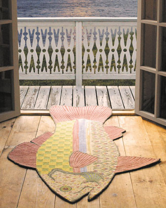 MacKenzie-Childs eclectic rugs