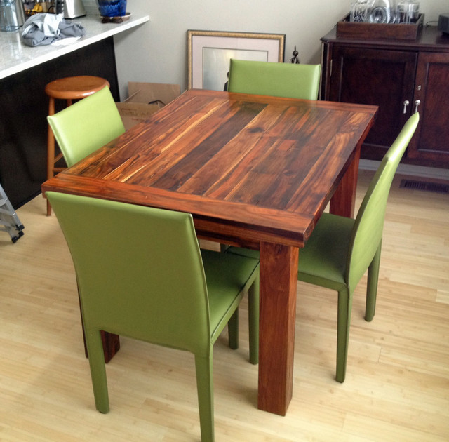 Teak Dining Table 36 X 48 2 Thick