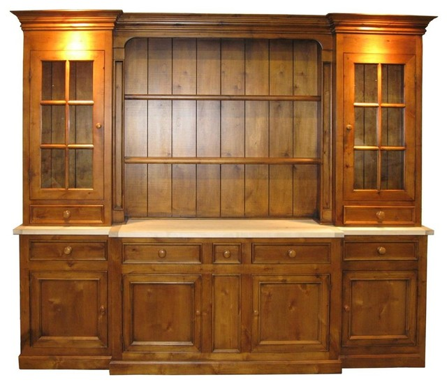 ... Cabinets (China Red) - Traditional - China Cabinets And Hutches - by