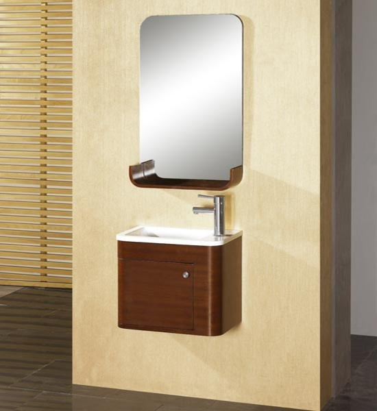 Small Bathroom Vanity And Sink : Dreamline eurodesign wallmount small vanity dlvrb