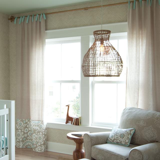 taupe suzani drapes by carousel designs nursery decor