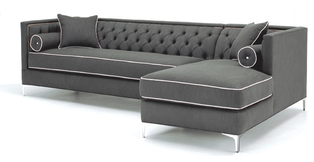 Grey Modern Sectional Sofas 640 x 330