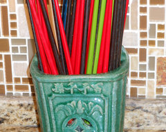 Shanghai Green Antiques - Chinese Antique Chopstick Holder.JPG