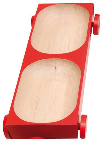 Kart 05 Lacquered - Red modern-serveware