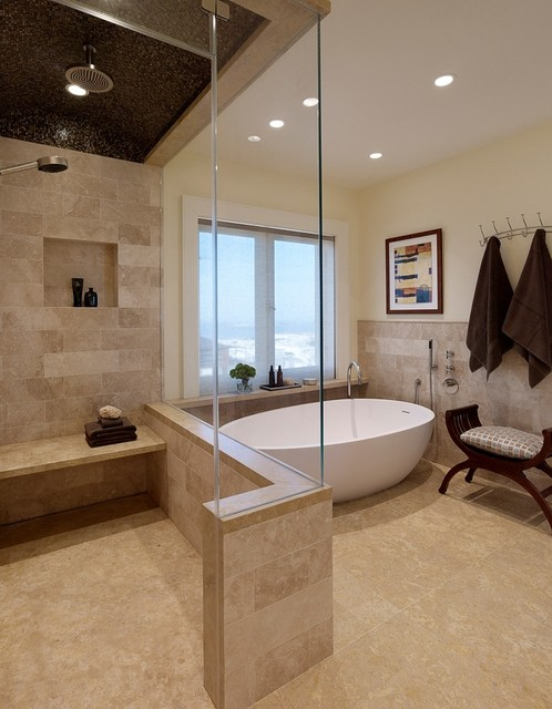 Hilltop Residence - Private Day Spa contemporary-bathroom