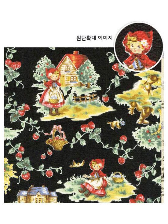 Kawaii Wonderland - Red Riding Hood fabric