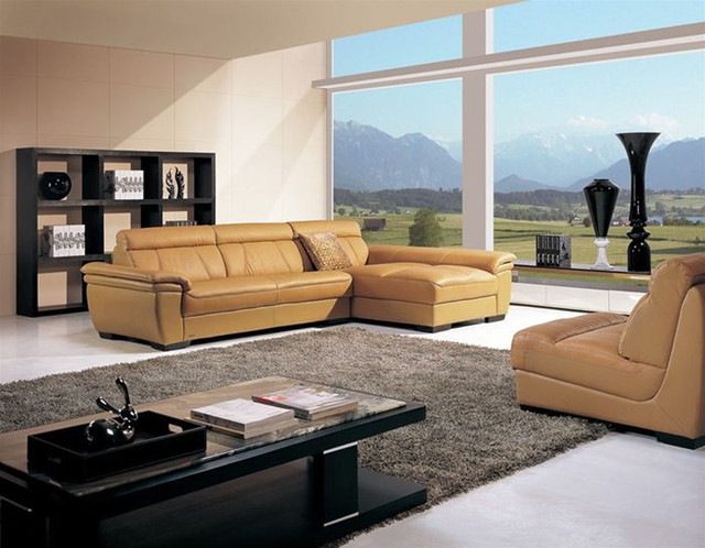 high end curved sectional sofa in leather contemporary sectional sofas miami by prime. Black Bedroom Furniture Sets. Home Design Ideas