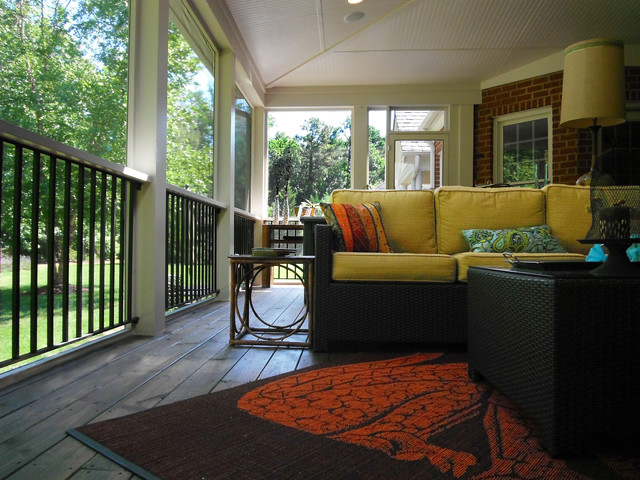 screened porch traditional-porch