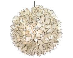 Lotus Flower Chandelier contemporary-pendant-lighting