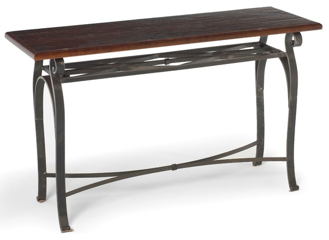 Camino Console by Charleston Forge eclectic-side-tables-and-end-tables