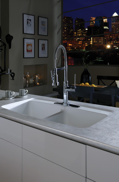 Integrated Kitchen Sink : All Products / Kitchen / Kitchen Sinks and Faucets / Kitchen Sinks