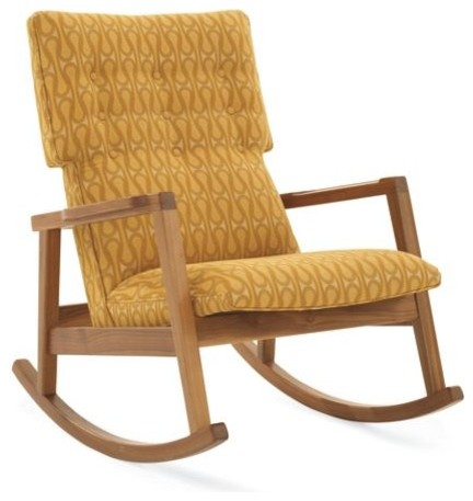 Risom Rocker modern rocking chairs