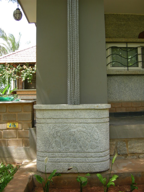 rainwater harvesting asian entry