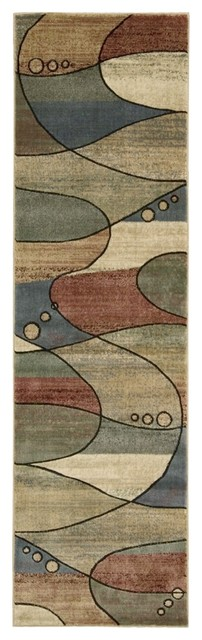 "Expressions XP06 2'3"" x 8' Multi Runner Rug eclectic-rugs"