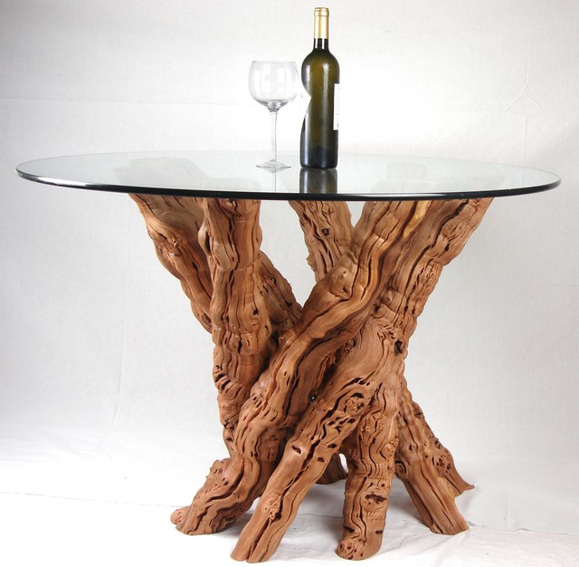 Old vine grapevine dining table dining tables other for Table and vine