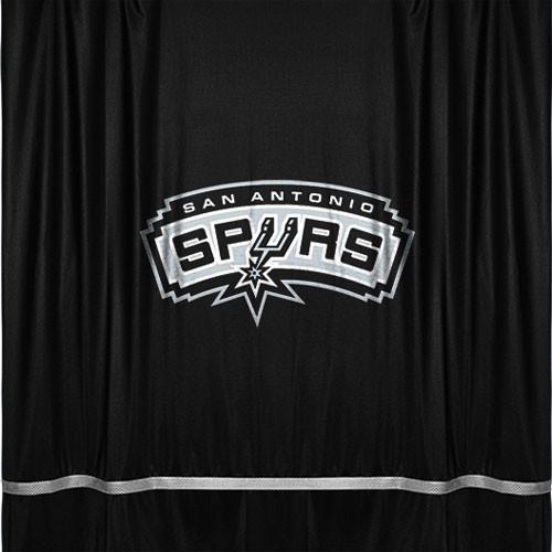 Nba San Antonio Spurs Shower Curtain Bathroom Accessory