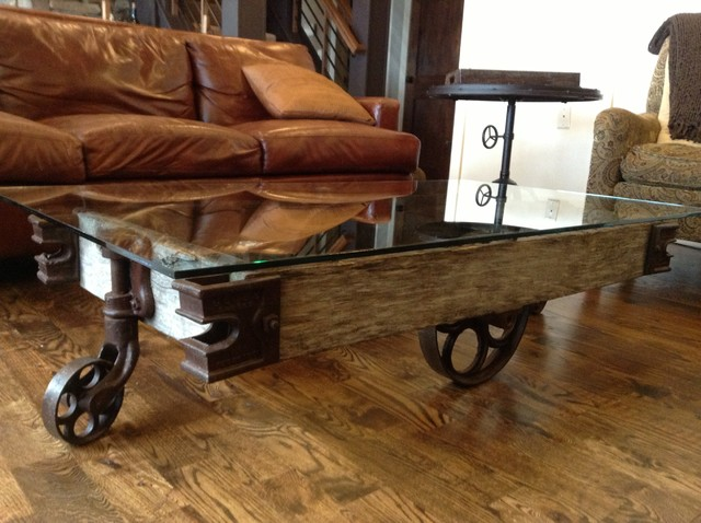 Rustically Modern Coffee Table Rustic Tables