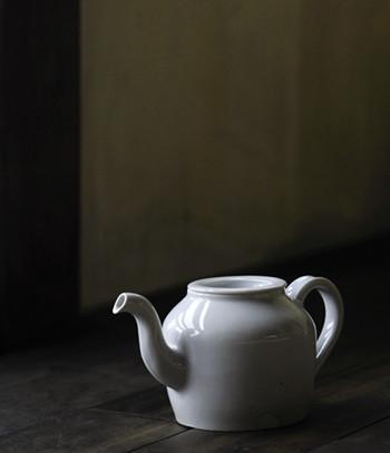 White Porcelain Teapot contemporary-teapots
