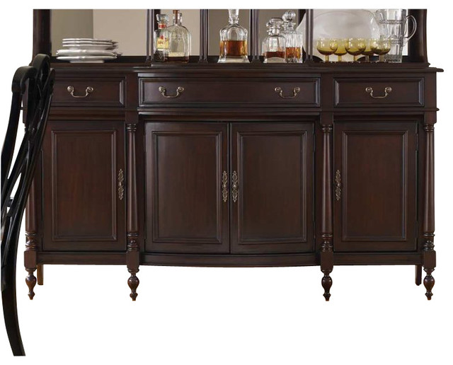 Hooker Furniture Estate Credenza in Mahogany transitional-buffets-and ...