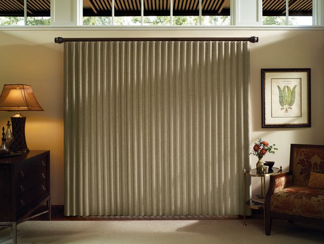 Luminette Privacy Sheers & Modern Drapery traditional-vertical-blinds