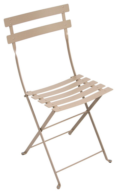 Fermob Bistro Chair Contemporary Outdoor Folding Chairs by FermobUSA