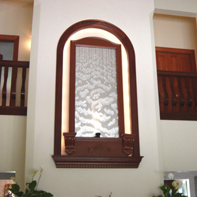 Indoor Custom Water Feature Ideas contemporary-indoor-fountains