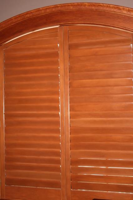 Wood Shutters window-treatments