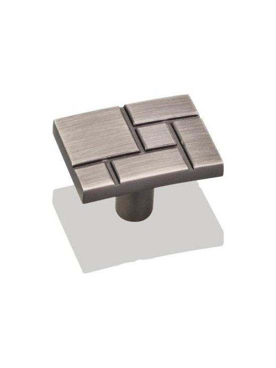 Jeffrey Alexander 874BNBDL Cabinet Knob - Breighton Series - Brushed Pewter Fini - This brushed pewter finish cabinet knob with etched geometric design is a part of the Breighton Series from Jeffrey Alexander. A perfect blend of craftmanship in traditional and contemporary design to complement any decor