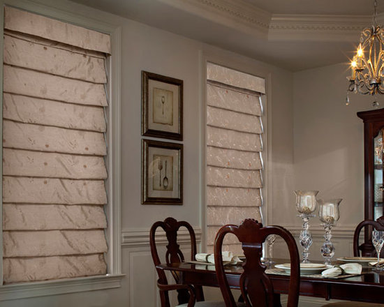 Lutron - Automated  Roman shades from Lutron