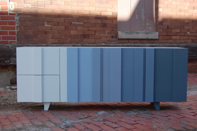 Ombre Console contemporary-buffets-and-sideboards