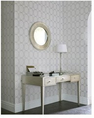 Centsational Girl » Blog Archive » Painted Trellis Wall