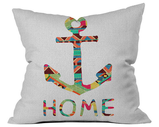 DENY Designs Bianca Green You Make Me Home Throw Pillow