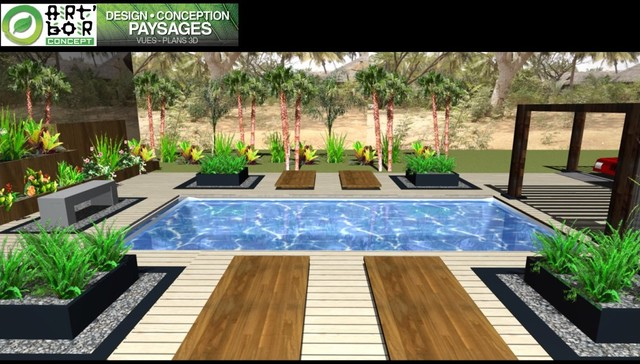 3D Pool Senegal contemporary