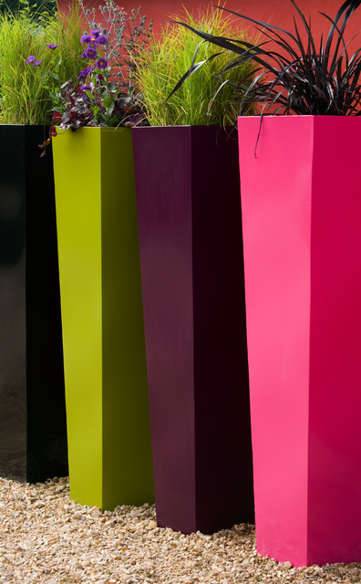 The Luxury Planter Collection Contemporary Outdoor Pots And Planters Ot
