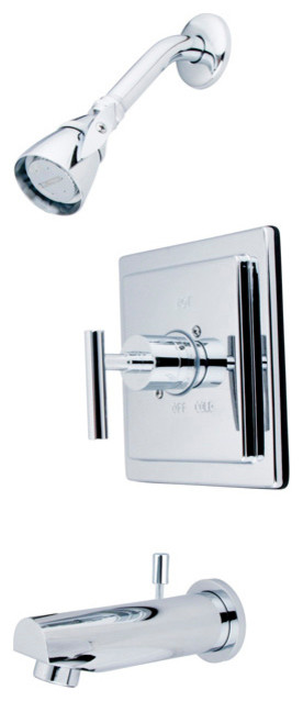Single Handle Shower Faucet modern-bathroom-faucets-and-showerheads
