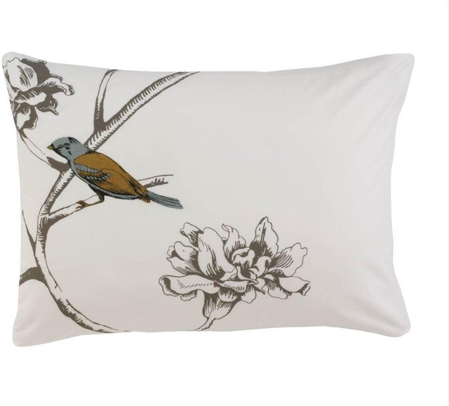 Dwell Studio Chinoiserie Tailored Pillow Case traditional-decorative-pillows