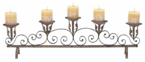 Candle Decoratives modern-candles-and-candleholders