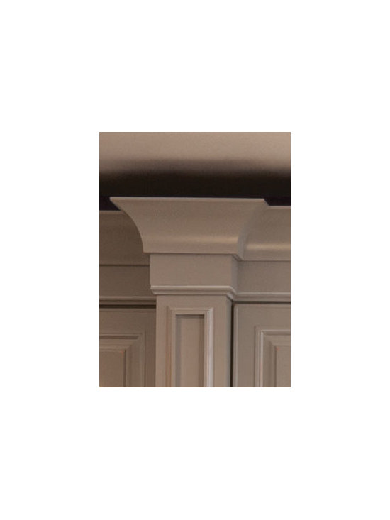 Merillat Cabinets - Sterling Molding - Sterling Molding adds grace and stature to wall cabinets.