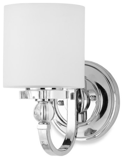 Wall Sconces Bed Bath And Beyond : Quoizel Downtown Wall Sconce With 1 Light - Contemporary - Bathroom Vanity Lighting - by Bed ...