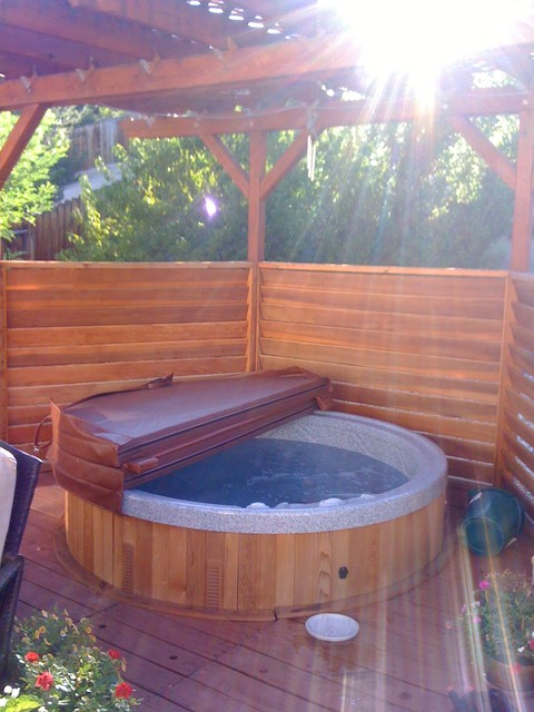 Hot tub installations traditional-hot-tub-and-pool-supplies