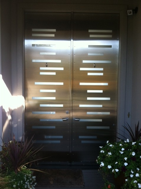 BUILDING PRODUCTS contemporary-front-doors