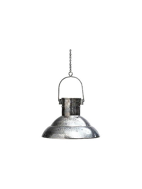 Vintage Bucket Light -
