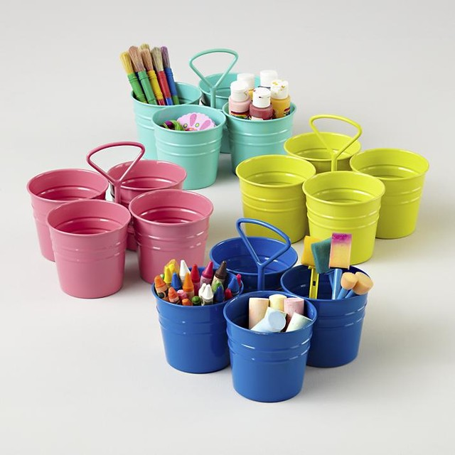 Wall Art Supply Holder : I could ve bin a container art caddy contemporary desk